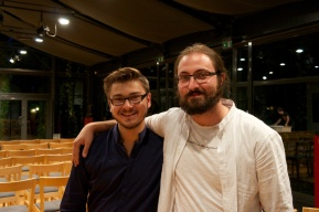 Me with the man of the course: Maciej Frackiewicz