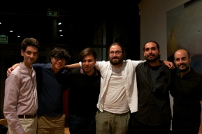 From left to right: Adrien Tsilougannis, Wei Yang, Alejandro Vera, Diego Jiménez Tamame, Miguel Frausto and Pedro Gómez
