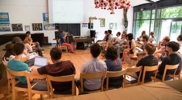 Maciej Frąckiewicz's lecture