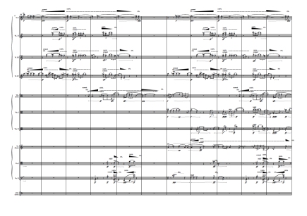 Low Resolution (Listen something unlistenable). For String Orchestra (7 Vl. I, 6Vl. II, 5 Vla., 4 Vc., 1 Cb.). 2014-15